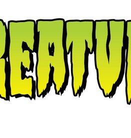 "Creature Creature 4"" Logo Sticker - Green"