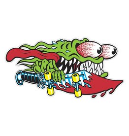 Santa Cruz Skateboards Santa Cruz Slasher Sticker - Green
