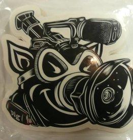 Pig Wheels Pig VX Sticker 5 x 5