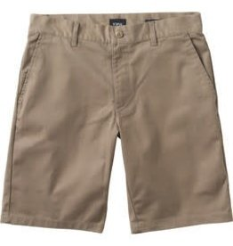 RVCA RVCA The Weekend Stretch Men's Shorts  - Khaki