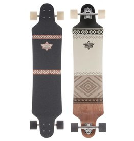 "Dusters Dusters Cualli Drop Down Complete Longboard 41.25"" - Brown"