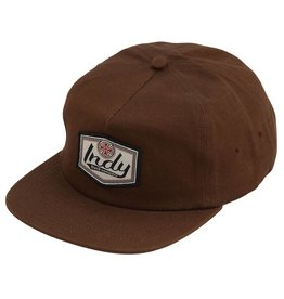 Independent Indy Patch Adjustable Snapback Mens - Dark Brown