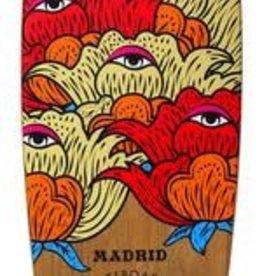 "Madrid Madrid Blunt Seer Bamboo Complete Longboard 36.25"""