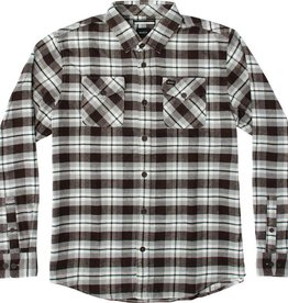 RVCA RVCA That'll Work Men's Flannel - Dark Chocolate