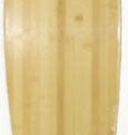 """ATTIC A T T I C - 10"""" x 27.50"""" x 40.50"""" Bamboo Longboard Deck"""