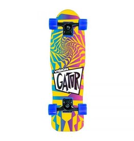 Vision Skateboards Vision Gator 2 Mini Cruiser Complete Faded 8.5x27.5
