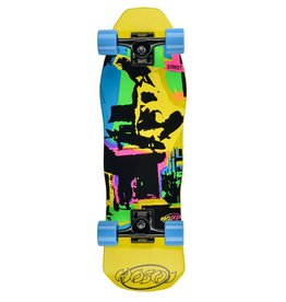 Hosoi Skateboards Hosoi Pop Art Mini Cruiser Complete Yellow 8.5x28