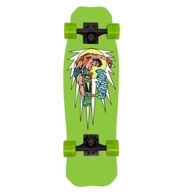 Hosoi Skateboards Hosoi Rocket Air Mini Cruiser Complete Green 8x28