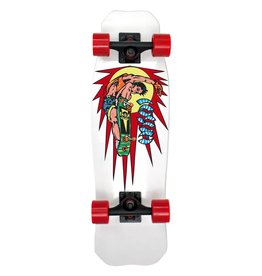 Hosoi Skateboards Hosoi Rocket Air Mini Cruiser Complete White 8x28