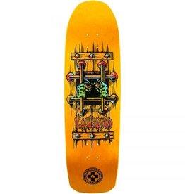 Black Label Black Label Emergency John Lucero OG Bars Re-Issue Deck Orange Stain 9.25x33.25