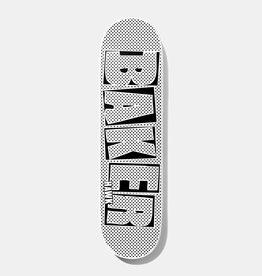 Baker Baker Hawk Brand Name Halftone Dipped Deck 7.75x31.25