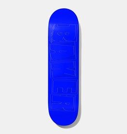 Baker Baker Herman Brand Name Debossed Blue Deck 7.875x31.125