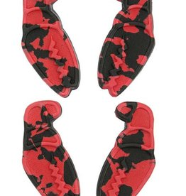 Crab Grab Crab Grab - Mini Claws - Red Black Swirl