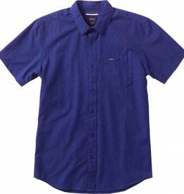 RVCA RVCA Pox Button Down SS - Indigo