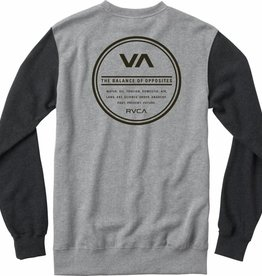 RVCA RVCA Circle Type Men's Sweatshirt - Grey Noise
