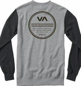 RVCA RVCA Circle Type Men's Sweatshirt - Grey Noise