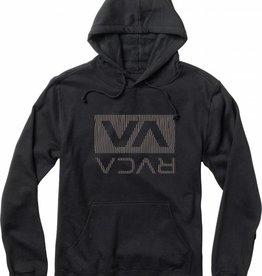 RVCA RVCA Oxnard Tech Pullover Fleece Hoodie - Black