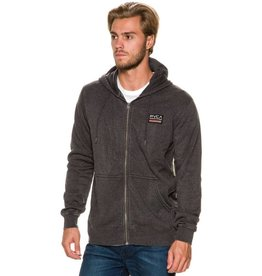 RVCA RVCA Mechanics Zip-Up Hoodie - Charcoal