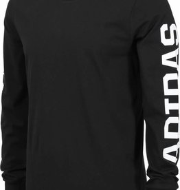 Adidas Adidas SAT School 2.0 LS T-Shirt- Black