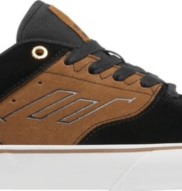 Emerica Emerica The Reynolds Low Vulc Skate Shoes - Black/Tan