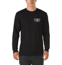 Vans Vans Full Patch Back Long Sleeve T-Shirt - Black