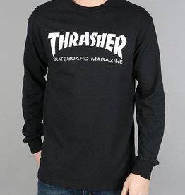 Thrasher Thrasher Skate Mag  L/S T-Shirt - Black