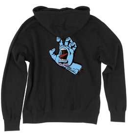 Santa Cruz Skateboards Santa Cruz Screaming Hand Pullover Hoodie - Black