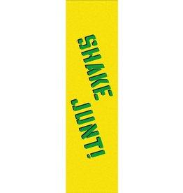"""Shake Junt Shake Junt Griptape 9 x 33"""" - Yellow / Green"""