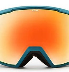 Zeal Zeal Nomad Phoenix Mirror Goggles 2018 - Turquoise Clay