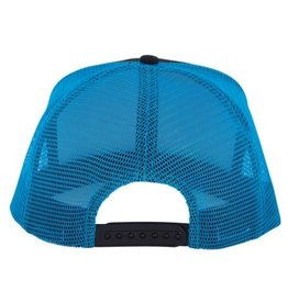 Santa Cruz Skateboards Santa Cruz Neon Dot Mesh Trucker Hat - Blk/Blu