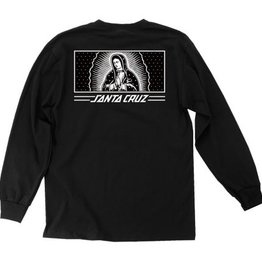 Santa Cruz Skateboards Santa Cruz Recess Guadalupe L/S T-Shirt - Black