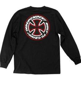 Santa Cruz Skateboards Independent Speed Kills L/S T-Shirt - Black