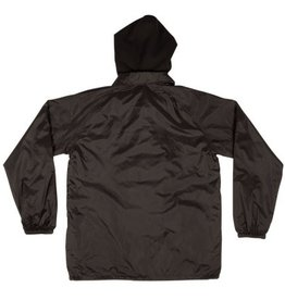 Independent Independent Foil Hooded Windbreaker - Black