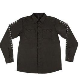 Independent Independent Labor L/S Button Up Shirt - Black