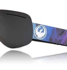 Dragon Alliance 2018 Dragon X1 Goggle- Dk Smoke/Blue