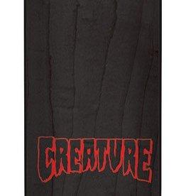 Creature Creature Logo Stencil MD Deck 8.25 x 32.04