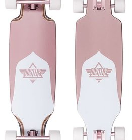 "Dusters Dusters Channel Complete Longboard 34"" -  Rose Gold"