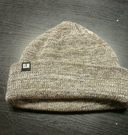 Elm Elm Company Standard Beanie - Heather Brown