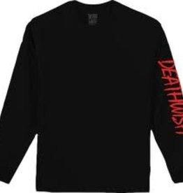 Death Wish Deathwish Eazy L/S T-shirt - Black