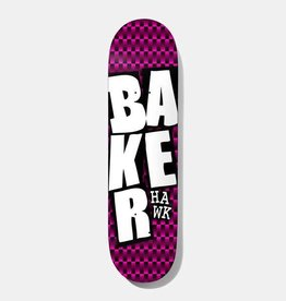 """Baker Baker RH Stacked BLK Checkers Deck 8.38"""" x 32"""""""