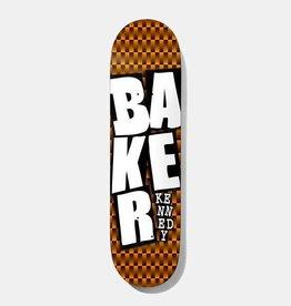 "Baker Baker TK Stacked ORG Checkers Deck 8.0"" x 31.5"""