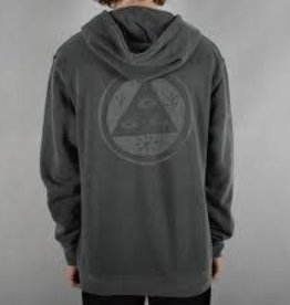 Welcome Skateboards Welcome Tali Scrawl Pullover Hoodie - Black/Color Shift