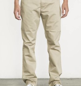 RVCA RVCA The Weekend Stretch Pants Slim - Khaki