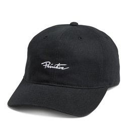 Primitive Apparel Primitive Nuevo Mini Script Strapback Hat - Black