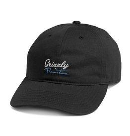 Primitive Apparel Primitive x Grizzly Logo Script Dad Hat - Black