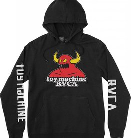 RVCA RVCA x Toy Machine Youth Hoodie - Black