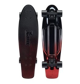 "Penny Skateboards Penny-Nickel Complete-27"" Gunmetal Red"
