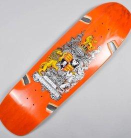 "Flip Flip Skateboards Lance Mountain Crest LRG Orange Deck 9.38"" x 32.75"""