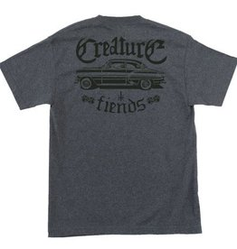 Creature Creature Car Club T-Shirt - Charcoal Heather