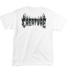Creature Creature Firestarter T-Shirt - White